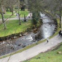 В парке, Bad Wildbad. :: Mariya laimite