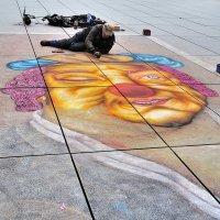 Уличный художник :: alteragen Абанин Г.