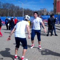 Репортаж с открытия Парка футбола в Ростове-на-Дону :: Нина Бутко