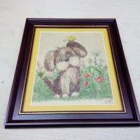 Картинка в раме под стеклом :: Владимир (Багетный мастер)