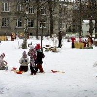 Последний снежок :: galina bronnikova