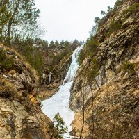 водопад Буравидон IMG_1034 :: Олег Петрушин