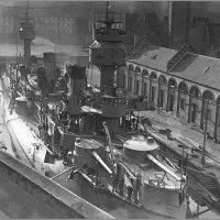 "cruiser ""Dupuy de Lôme"", the first armoured cruiser, Brest arsenal drydock, early 1890s :: Александр"