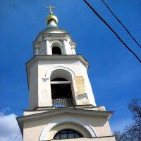 Колокольня Воскресенской церкви на Ваганьковском кладбище :: alek48s