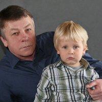 Деда и Внучок. :: Jakob Gardok