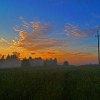 Закат в конце июля :: Sergey Chelishev