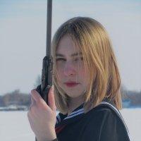 Девушка с воздушкой :: Дарья Лаврухина