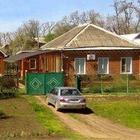 Дома вдоль железной дороги :: Татьяна Смоляниченко