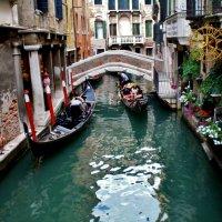 Венеция...каналы  и  гондолы... :: backareva.irina Бакарева