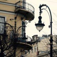 фонарик с балконом :: Елена