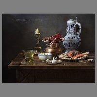 Натюрморт с морепродуктами №3 :: Татьяна Карачкова