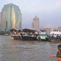 Река Чао Прай в Бангкоке :: ИРЭН@ Комарова