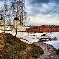 От зимы к весне :: Елена Строганова