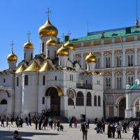 Благовещенский храм в Кремле :: Анатолий Колосов