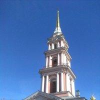 С Благовещеньем! (Колокольня Казачьего собора в СПб) :: Светлана Калмыкова