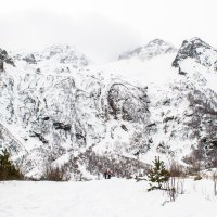 водопад Три сестры 4 фев 2018 IMG_1097 :: Олег Петрушин