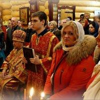 Ночное пасхальное богослужение в морском храме... :: Кай-8 (Ярослав) Забелин