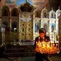 В храме :: Марина Таврова