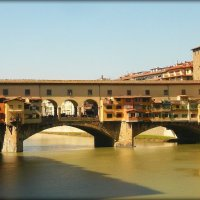 Золотой мост Понте Веккьо во Флоренции. :: Galina Belugina