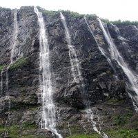 Водопад *Семь сестер * :: Николай Танаев
