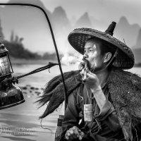 Старый рыбак :: Victoria Rogotneva