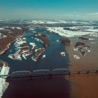 Река Томь Новокузнецк :: Юрий Лобачев