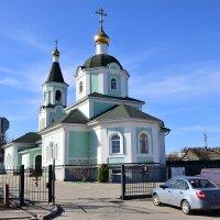 Храм преподобного Сергия Радонежского в Белгороде :: Елена Иванова