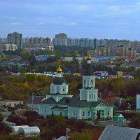 Храм преподобного Сергия Радонежского :: Сергей Щеблыкин