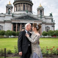 Александр и Оксана :: Алина Мартынова
