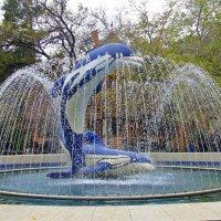 Фонтан с дельфинами :: Марина Таврова