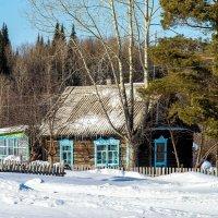 Одинокий домик :: Владимир Деньгуб