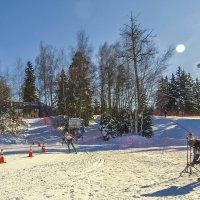 Лыжный марафон :: Сергей Цветков