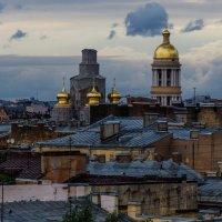 Прогулка по крышам Санкт-Петербурга :: Ирина Руднева