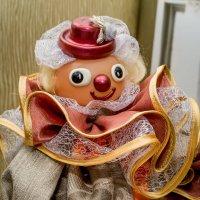 Советский клоун.Новая жизнь старым грушкам. :: Ирина Кузина