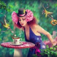 """Кафе """"Зеленый попугай"""" :: Марина Чиняева"""