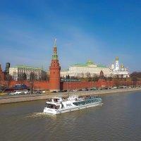 Вид на Московский Кремль :: Павел