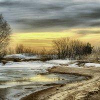 морозное утро на Ладоге :: Георгий