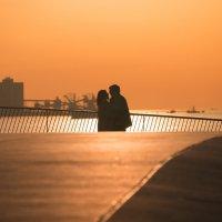 Пара на закате :: Анна Удалова