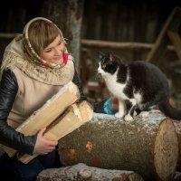 разговор с котом :: Андрей Обухов