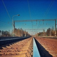 Железная дорога :: Lilek Pogorelova