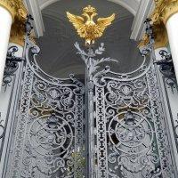 Ворота Зимнего дворца :: Алла Захарова