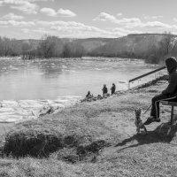 Наблюдаем ледоход 3 :: Валерий Михмель