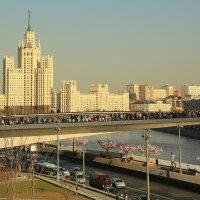 Москва,Зарядье,Парящий мост :: ninell nikitina