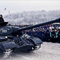 Арктика. Танк ИС-3М :: Кай-8 (Ярослав) Забелин