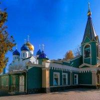 Осень в монастыре. :: Вахтанг Хантадзе