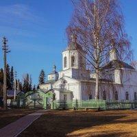 Церковь Успения Пресвятой Богородицы  и Церковь Богоявления Господня в Туровце :: Андрей Дурапов