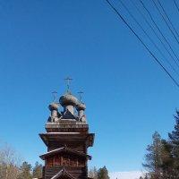 Малые Карелы. Музей деревянного зодчества :: Александр Бычков