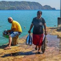 возвращение от рыбалки :: Георгий