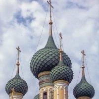 Купола Рождественской церкви :: Галина Каюмова