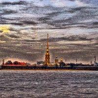 Петербурга свинцовое небо! :: Натали Пам